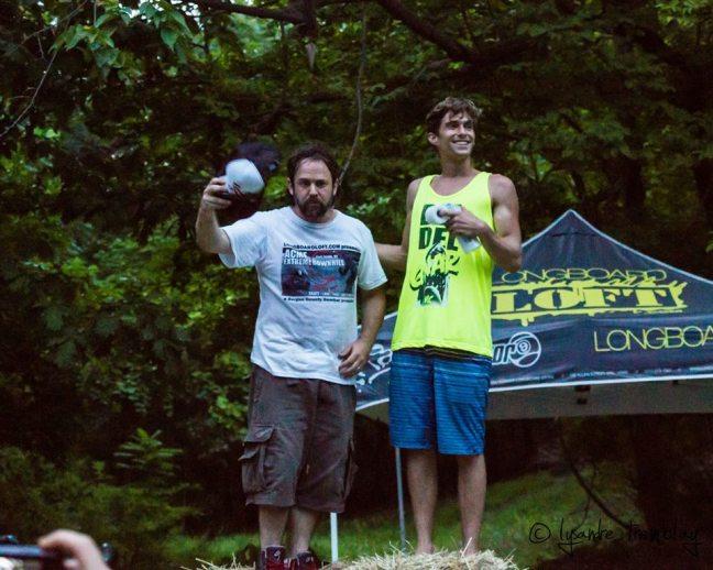 Les organisateurs! Tom et Brian!