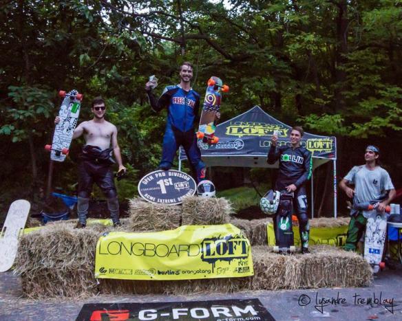 Le podium : MGR, Matthew, FCT et jack en 4e